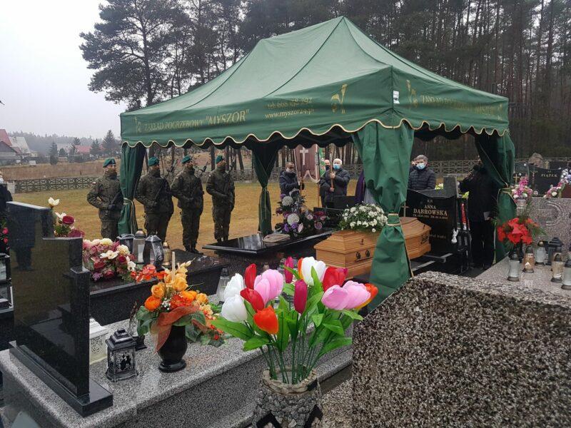 """Pożegnaliśmy por. Tadeusza Dąbrowskiego """"Bombę"""""""